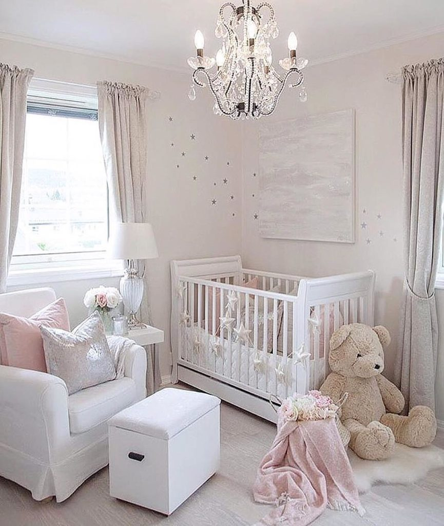 Beautiful Baby Rooms: 21 Beautiful Baby Girl Nursery Room Ideas