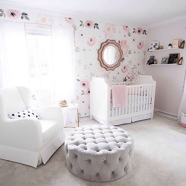 Angel Themed Design For A Baby Girl S Nursery: 21 Beautiful Baby Girl Nursery Room Ideas