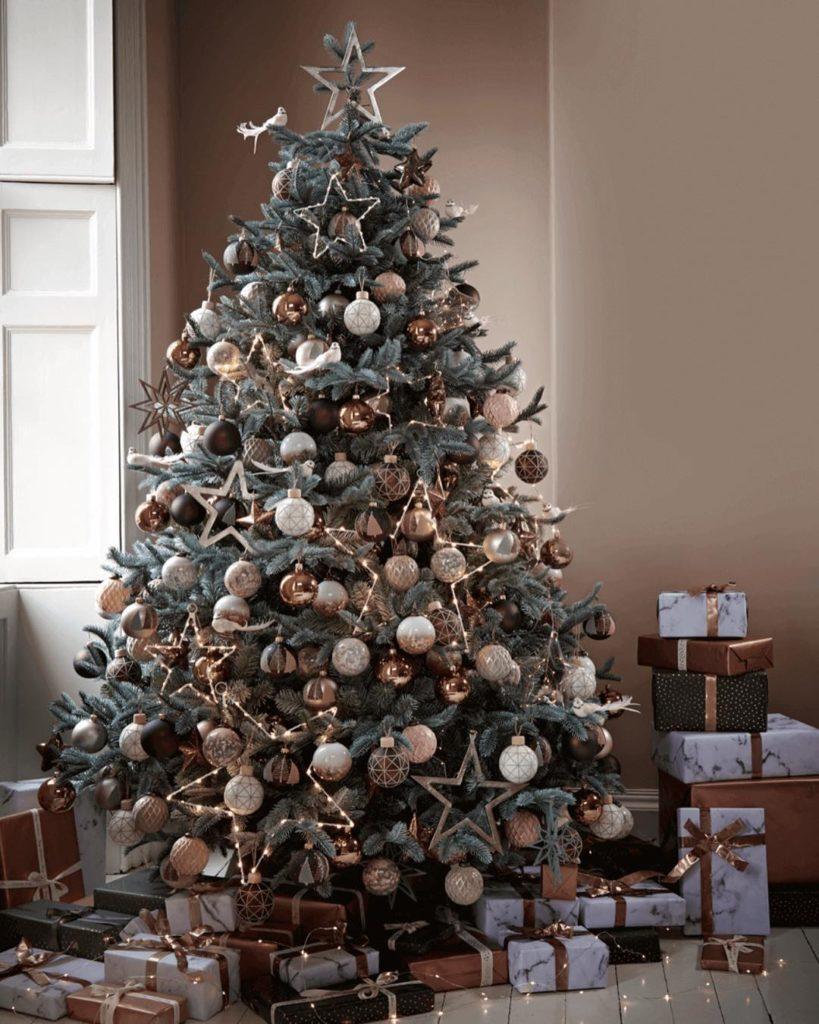 Copper Opulence Christmas look @coxandcox