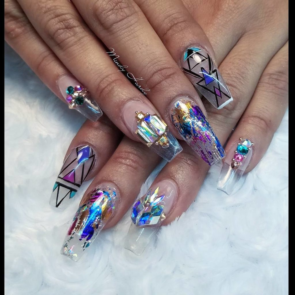 Glass nails @mindyhardy