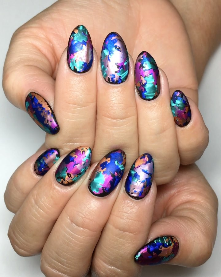 12 Unique trending nail art designs for 2017 - Gazzed