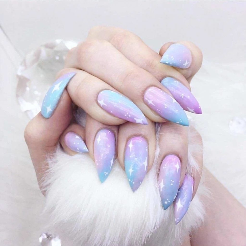 12 Unique trending nail art designs for 2017 - Gazzed