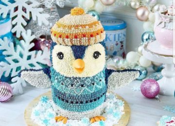 Christmas Cakes – Gorgeous Winter Cakes 2017
