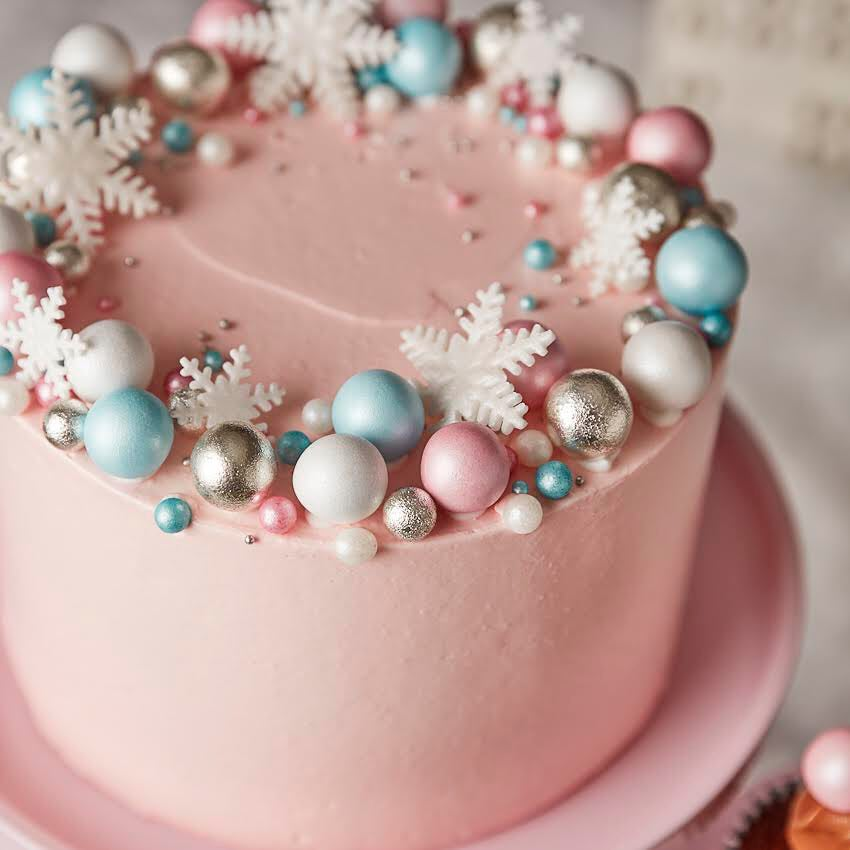 Pink prosecco cake @peegyporschen