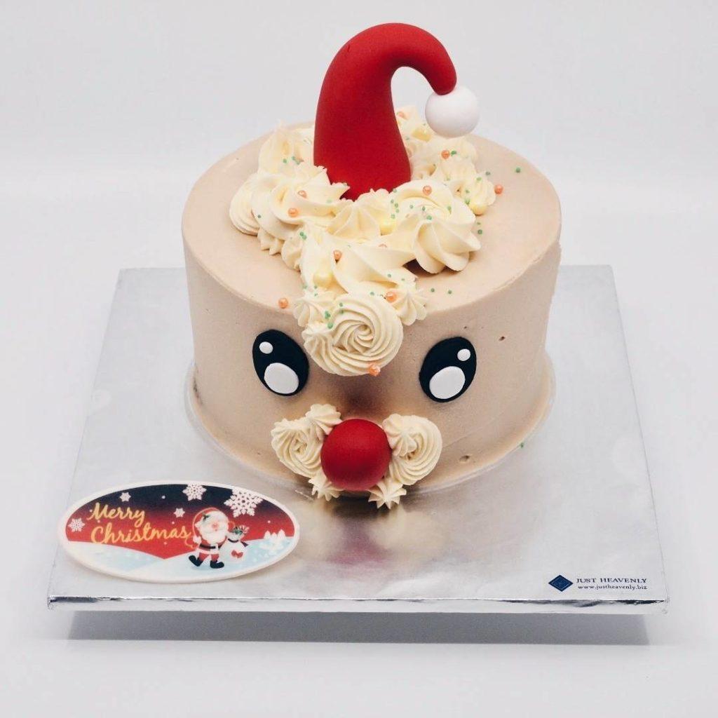 Santa christmas cakes @justheavenly.my
