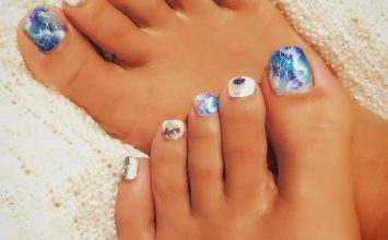 Toenails and Pedicure trending design ideas