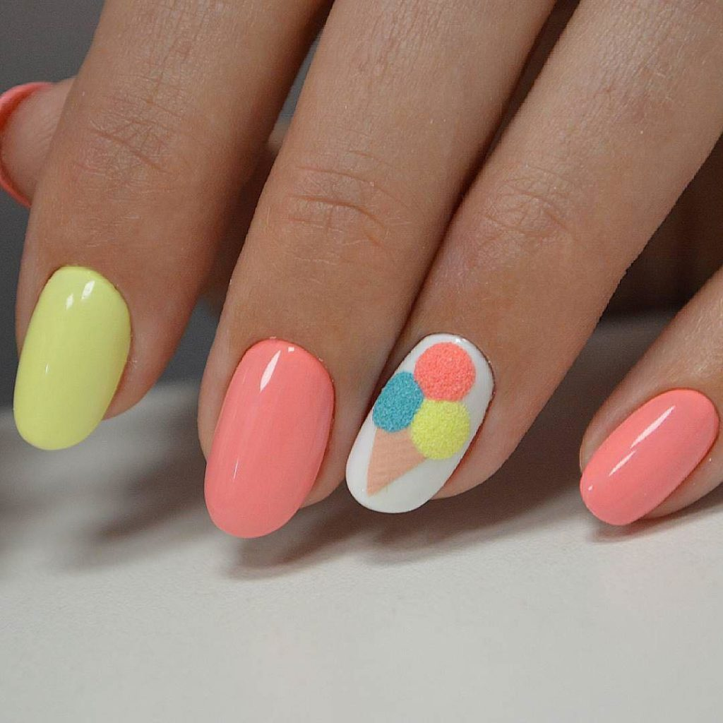 Easy Nail Designs: Make Life Easier: Beautiful Summer Nail Art Designs To Try