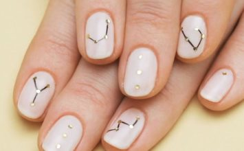 23 Beautiful Nail Art Designs and French Manicure in Acrylic