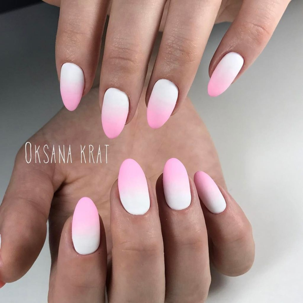The Best 12 Ombre Nail Art - French fades, unicorn and more - Gazzed