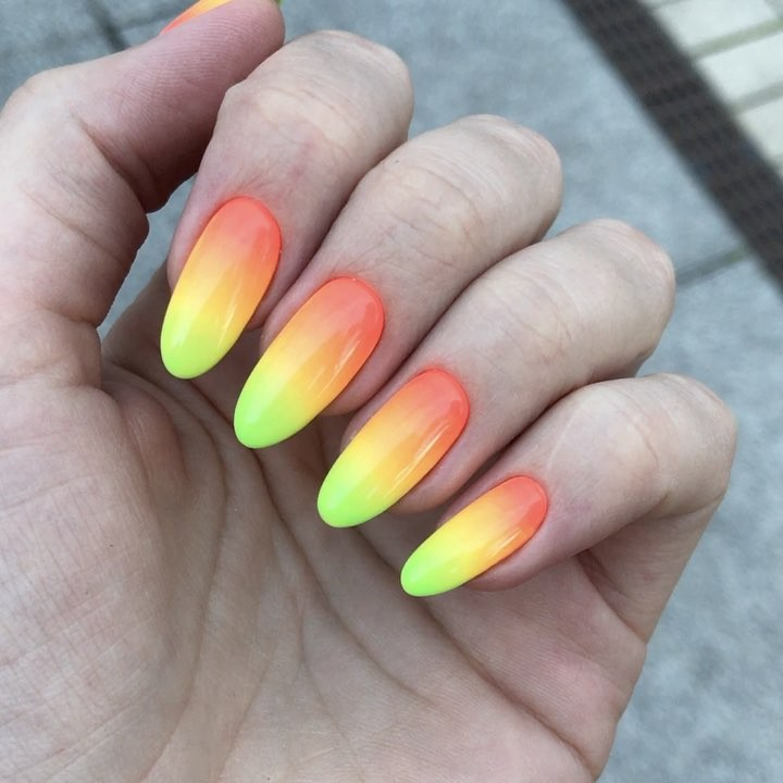 The Best 12 Ombre Nail Art , French fades, unicorn and more