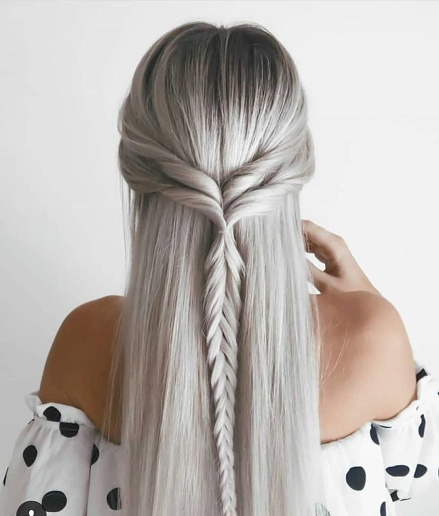 Latest Hair Style 2018 Attend Wedding Hair Tied Back: Wedding Hairstyles Half Up Half Down For Short And Long