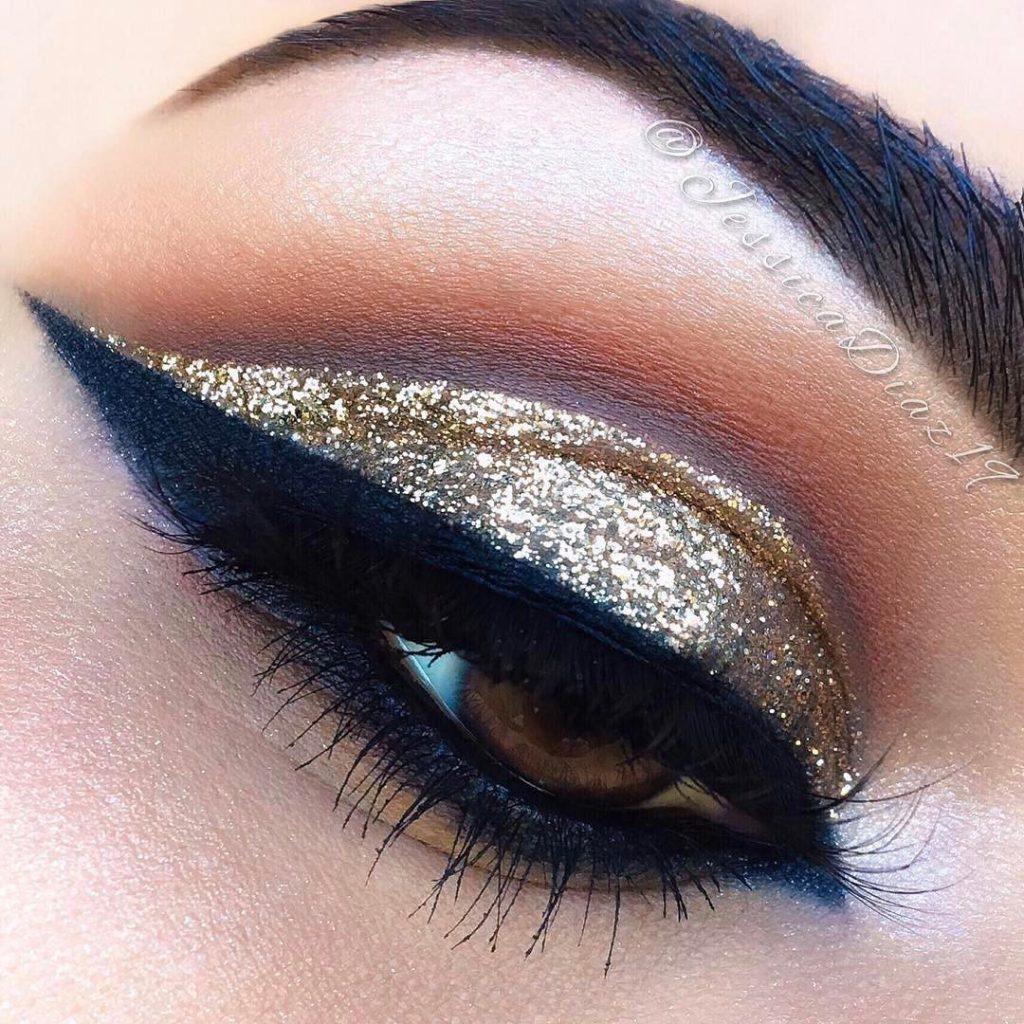 Nubian 2 eye make up @jessicadiaz19