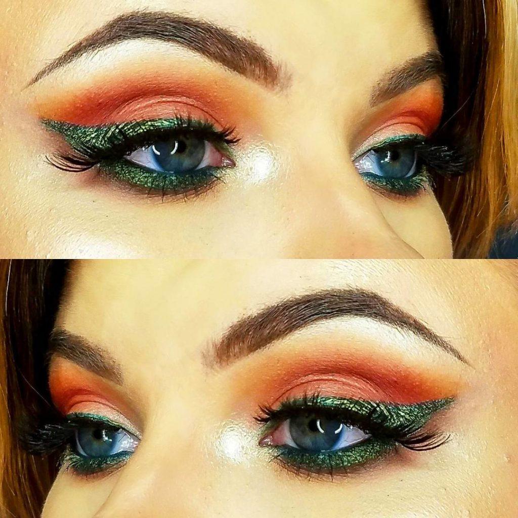 Nubian 2 eye makeup @marannamakeup
