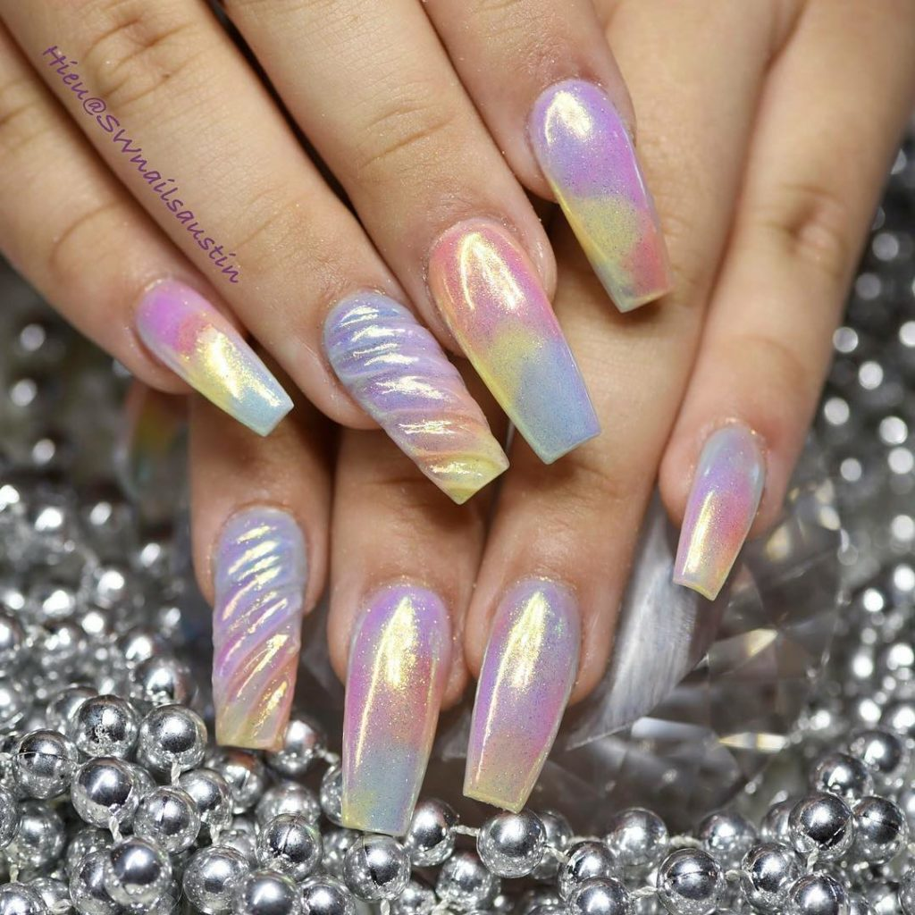 10 Impressive Coffin Nails Ballerina Nail Designs Gazzed