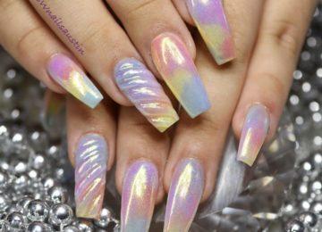 10 Impressive Coffin Nails – Ballerina nail designs