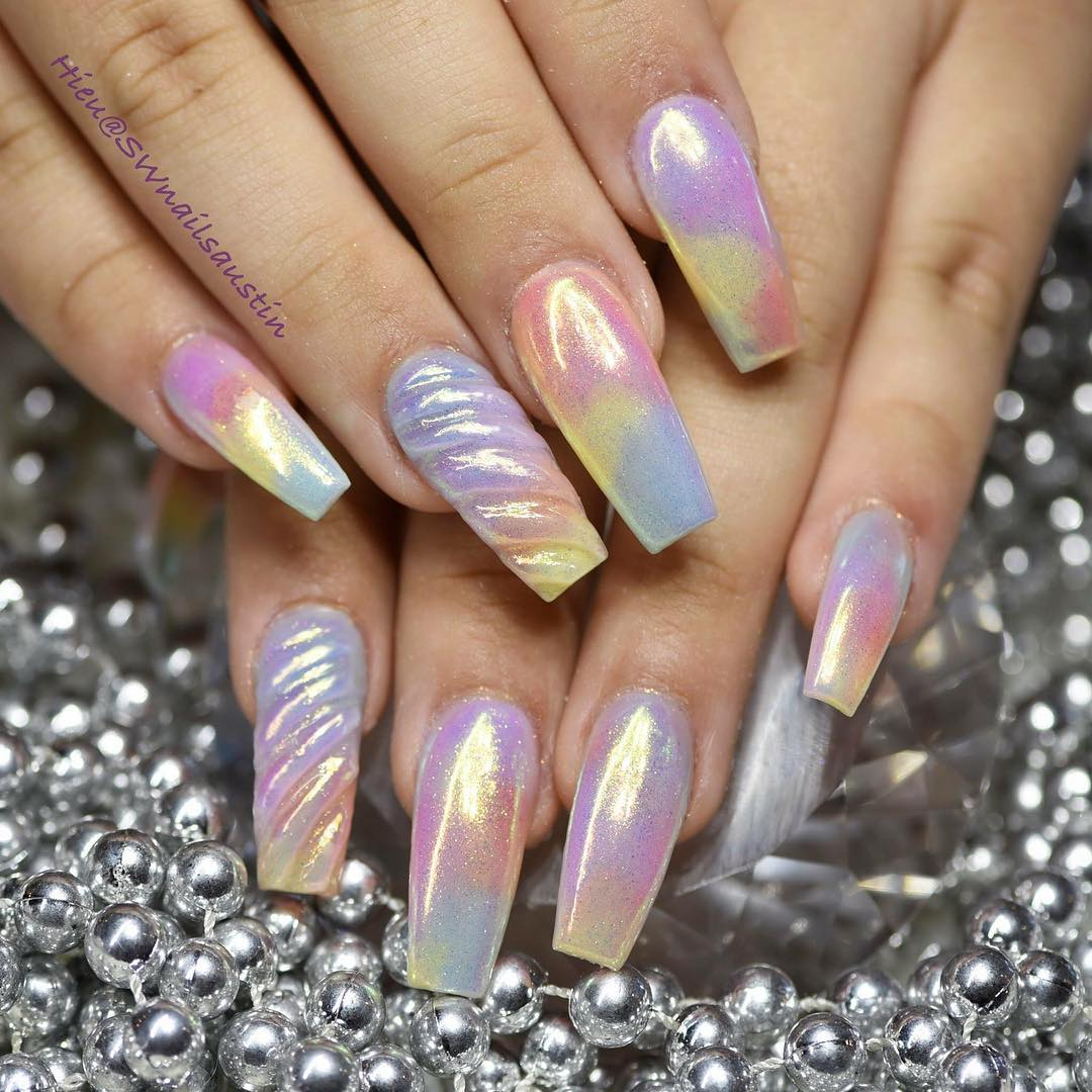 trending nail art designs - Gazzed