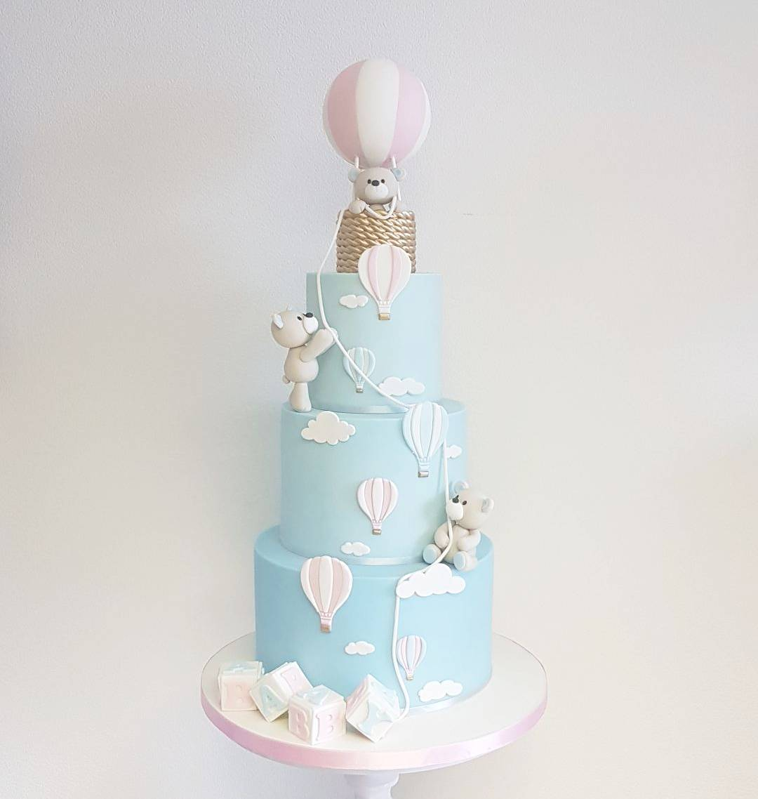 Baby Shower Cake Designs Gender Reveal Party Gazzed
