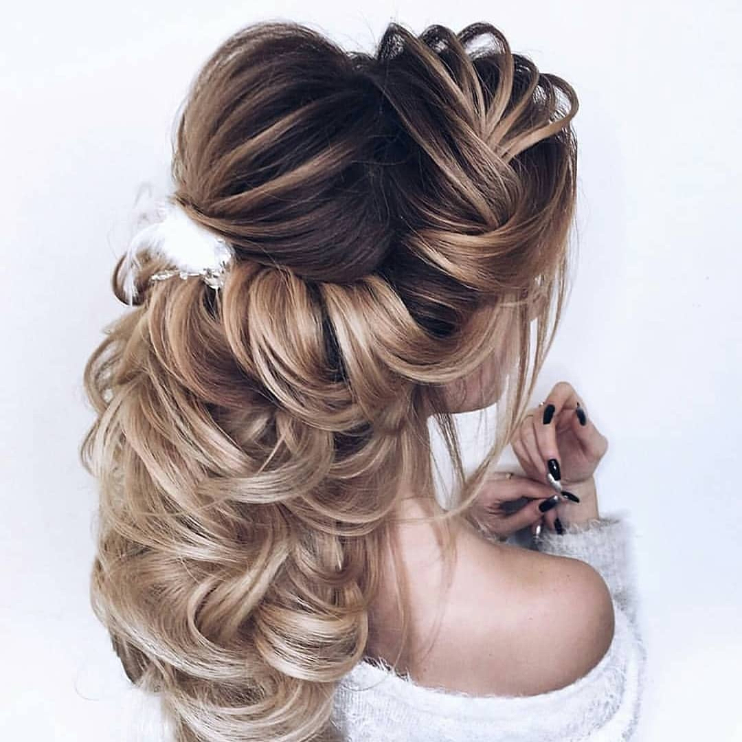 Long Hair Wedding Hairstyles Down: Wedding Hairstyles Half Up Half Down For Short And Long